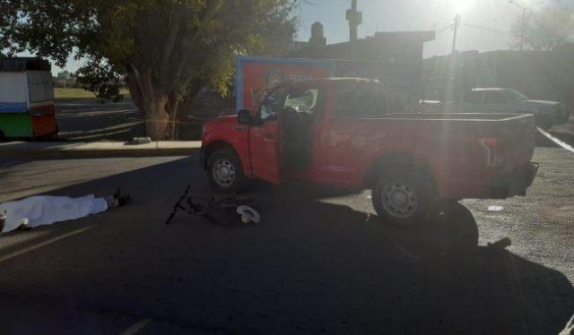 ¡Ciclista adulto mayor murió embestido por una camioneta en Río Grande!