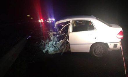 ¡Mujer automovilista murió embestida por un tráiler en Aguascalientes!