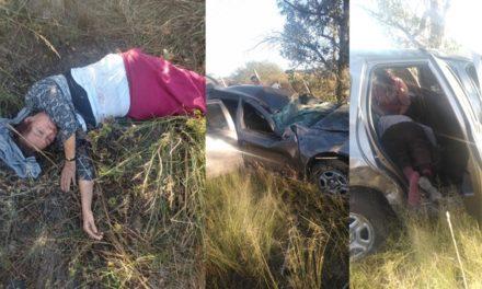 ¡Volcadura de una camioneta en Aguascalientes ya cobró su segunda víctima mortal!