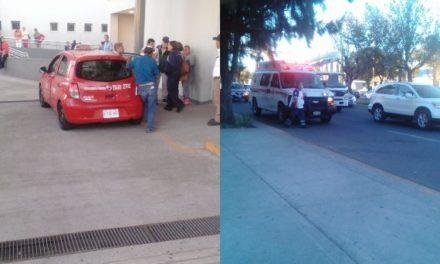 ¡Ancianito de 99 años de edad murió a bordo de un taxi afuera del Hospital del ISSSTE en Aguascalientes!