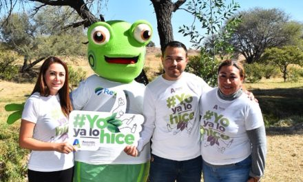 """¡Presenta Tere Jiménez campaña """"Yo Ya Lo Hice"""" para reducir uso de plásticos y desechables!"""