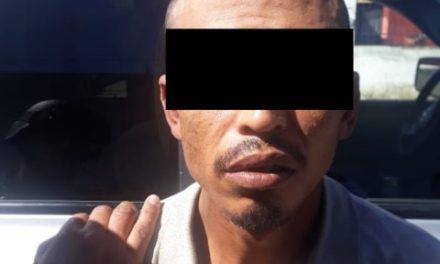 """¡Presunto distribuidor de droga fue detenido con más de 300 dosis de """"crystal""""!"""