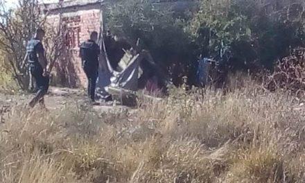 ¡Desconocido se mató ahorcándose en un predio en Aguascalientes!