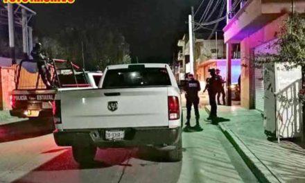 ¡Sicarios encapuchados ejecutaron a una mujer afuera de su casa en Calera!