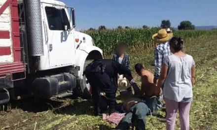 ¡Trabajador se salvó de morir electrocutado y de una caída de 3 metros en Aguascalientes!