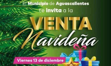 ¡Venta Navideña este viernes en Palacio Municipal!