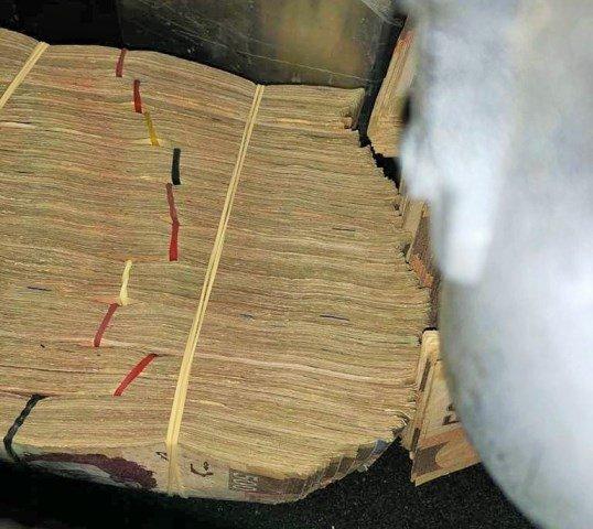 ¡Sujeto fue detenido con $1 millón por elementos de la Guardia Nacional en Zacatecas!