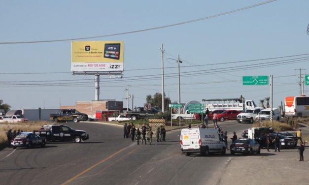 GALERÍA/¡Muere elemento de la Policía Federal y un secuestrador en enfrentamiento en Lagos de Moreno!
