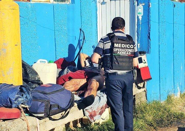 ¡Trailero vecino de Lagos de Moreno fue asaltado y baleado en Aguascalientes!