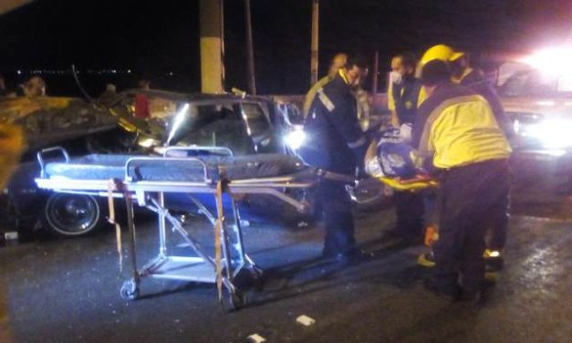 ¡6 zacatecanos resultaron lesionados tras fuerte accidente en Aguascalientes!