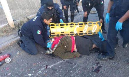 ¡Trágico choque dejó una taxista muerta y su pasajera lesionada de gravedad en Aguascalientes!