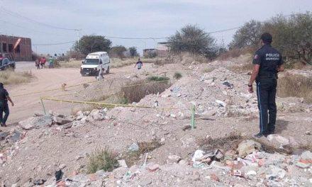 ¡Asesinaron a un hombre destrozándole la cabeza en Aguascalientes!