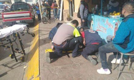 ¡Camioneta fue impactada por el tren en Aguascalientes: 2 lesionados!