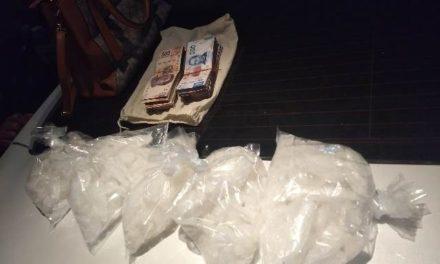 """¡Capturaron a 2 robacoches con más de 2 kilos de """"crystal"""" en Aguascalientes!"""
