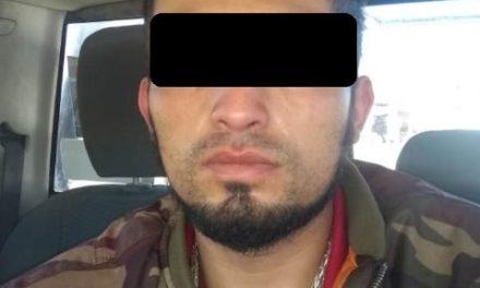 """¡Detuvieron a narcomenudista con """"crystal"""" y un arma de fuego en Aguascalientes!"""