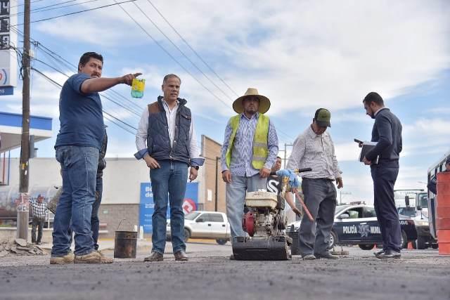 ¡El Municipio de Jesús María inicia obras de mantenimiento en avenida Guadalupe!