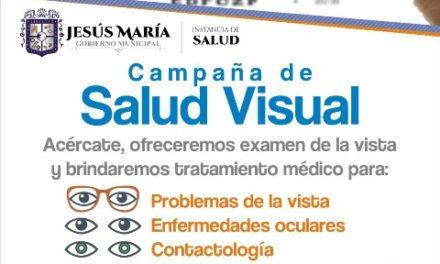 ¡Facilita el Gobierno de Jesús María atención ocular gratuita mediante la campaña de salud visual!