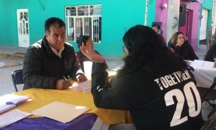 ¡Funcionarios recorren comunidades de Pabellón de Arteaga con el Programa Ayuntamiento en tu Colonia!