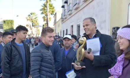 ¡Ganan equipos de la Escuela Municipal de Futbol de Jesús María torneo estatal!