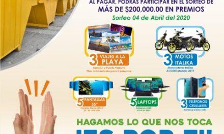 ¡Inicia el año el municipio de Jesús María con descuentos hasta del 15 por ciento en el pago del predial!