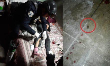 ¡Intentaron ejecutar a balazos a una mujer y la dejaron herida en Aguascalientes!