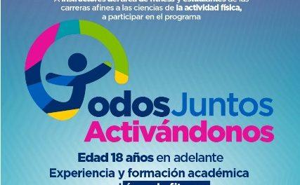 """¡Municipio invita a participar en programa """"Todos Juntos en el Deporte""""!"""