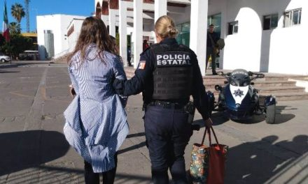 ¡Mujer ladrona originaria de Jalisco fue detenida tras robar $50 mil en joyería en Aguascalientes!