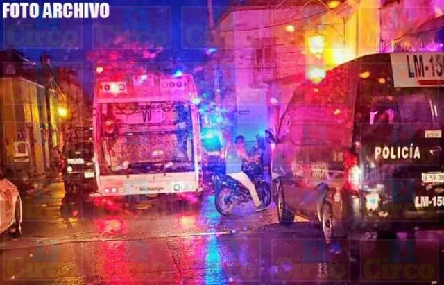"""¡Pistoleros """"levantaron"""" a balazos a dos hombres en Lagos de Moreno!"""