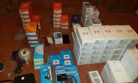 ¡Recuperaron teléfonos robados de la tienda AT&T tras cateo domiciliario en Aguascalientes!