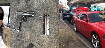 ¡Sujeto originario de Jalisco fue detenido con un arma de fuego en Aguascalientes!