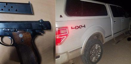 ¡Tras agresión, PEP detuvo a cuatro mujeres menores de edad y aseguró un arma de fuego y un vehículo robado!