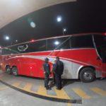 ¡Delincuentes balearon autobús al no poder asaltar a los pasajeros en Zacatecas!
