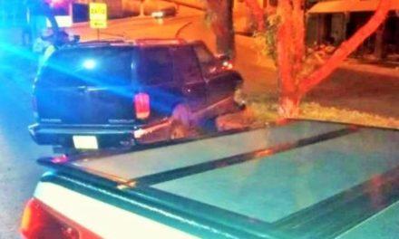 ¡Adulto mayor murió tras estrellar su camioneta contra un árbol en Zacatecas!