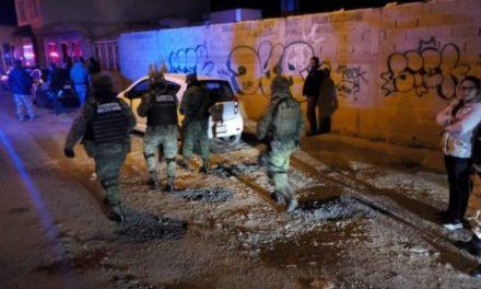 ¡Afuera de su casa en Guadalupe ejecutaron a balazos a un hombre!