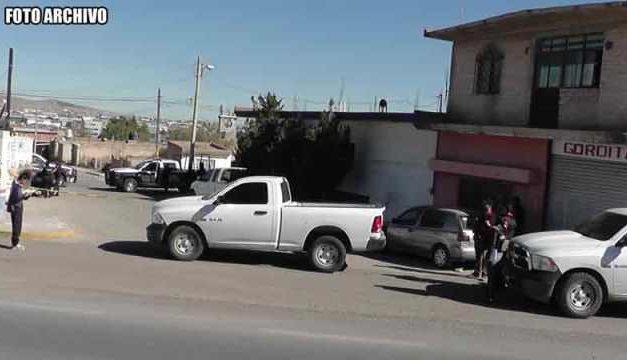 ¡Ejecutaron a un hombre e hirieron a otro en la colonia Emiliano Zapata en Fresnillo!
