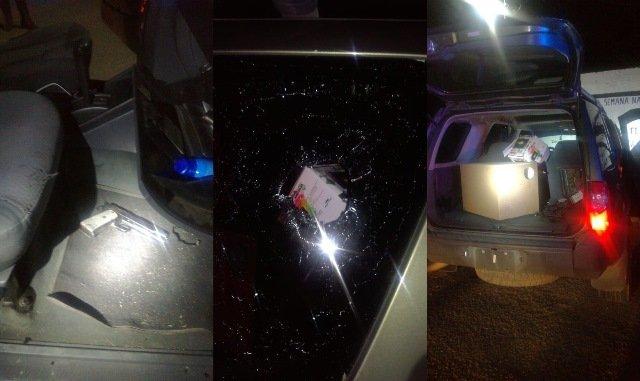 ¡Tras agresión, PEP aseguró un vehículo y armas de fuego en Pánfilo Natera!