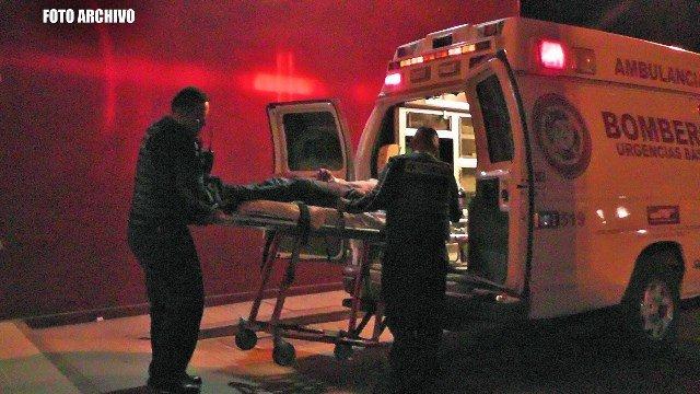 ¡Peatón murió atropellado por un automóvil en Fresnillo!