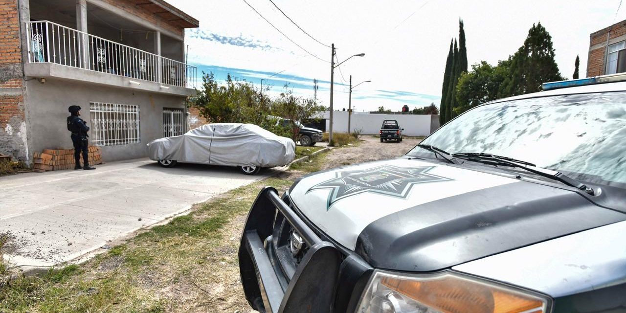¡Catearon una bodega donde guardaban drogas en Aguascalientes!