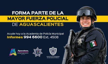 ¡Abren convocatoria para aspirantes a policías municipales!