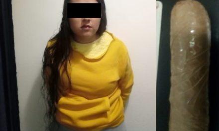 """¡Detuvieron a mujer que intentó meter droga """"crystal"""" al CERESO Aguascalientes!"""