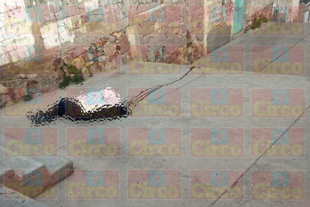 ¡Ejecutaron a un hombre y le clavaron un narco-mensaje en Zacatecas!