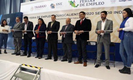 ¡La 1a Feria Estatal de Empleo 2020 ofertó más de 800 oportunidades de trabajo!