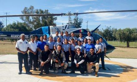 ¡Grupo de Operaciones Aéreas de la SSPM capacita a estudiantes!