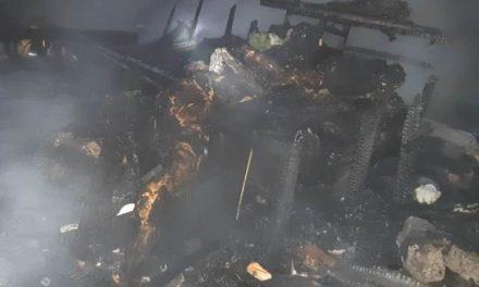¡Mujer y hombre murieron calcinados tras incendiarse una casa en Aguascalientes!
