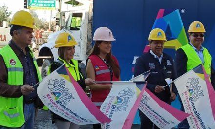 ¡Tere Jiménez arranca obra de rehabilitación de la avenida Petróleos Mexicanos!