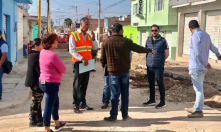 ¡Avanzan los trabajos en la calle Julio Cadena de Jesús María!