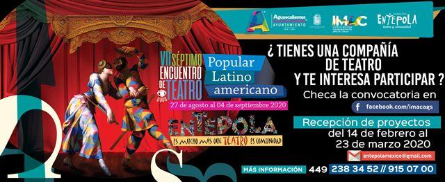 ¡Abierta la convocatoria para el Séptimo Encuentro de Teatro Popular Latinoamericano Entepola 2020!