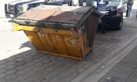 ¡Encontraron a un feto en un contenedor de basura en Aguascalientes!