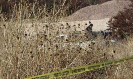 ¡Hombre ejecutado fue encontrado a un lado de una carretera en Miguel Auza!