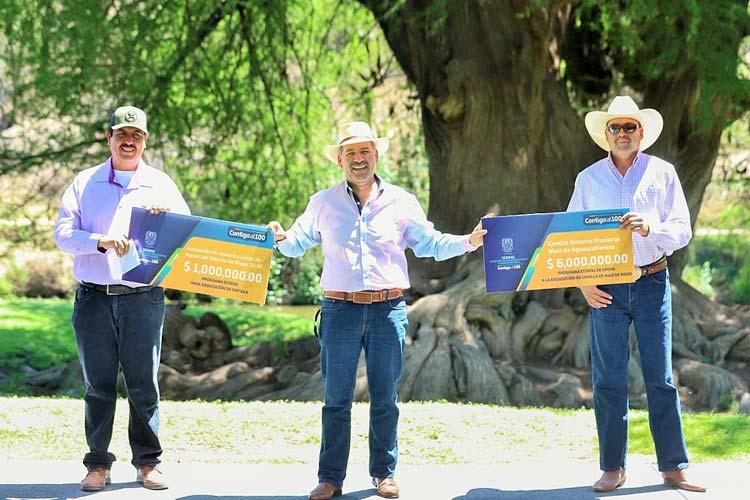 ¡Ante contingencia por COVID-19, cuidaremos al campo de Aguascalientes: MOS!